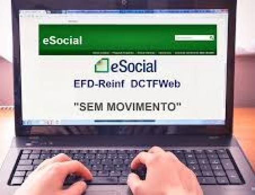 eSOCIAL , EFD – REINF e DCTF – WEB
