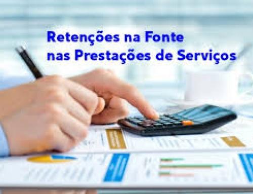 RETENÇÕES NA FONTE NAS PRESTAÇÕES DE SERVIÇOS