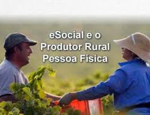 Novo ! eSocial – PRODUTOR RURAL eSocial 2.5 – Efd Reinf – Preenchimento Gfip