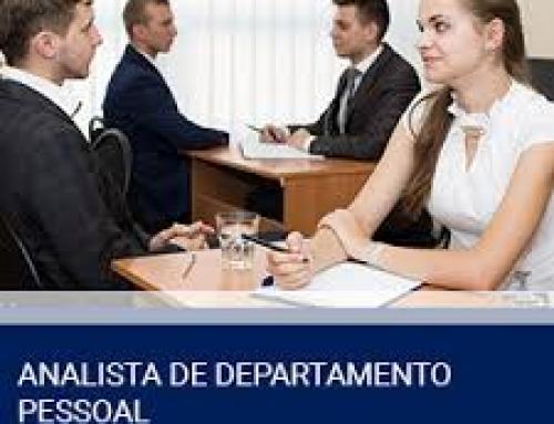 FORMAÇÃO DE ANALISTA DE DEPARTAMENTO PESSOAL (Ênfase em eSocial)