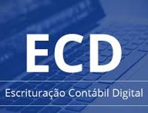 ECD – Escrituração Contábil Digital