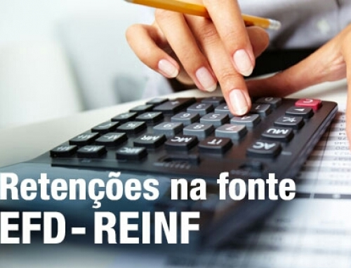 RETENÇÕES NA FONTE COM ÊNFASE EM EFD REINF