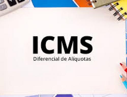 ICMS DIFERENCIAL DE ALÍQUOTA