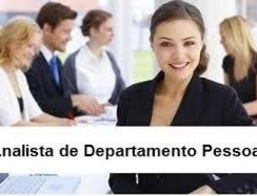 ANALISTA DE DEPARTAMENTO PESSOAL