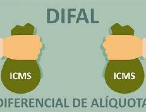 DIFAL 2019 – Diferencial de Alíquota do ICMS