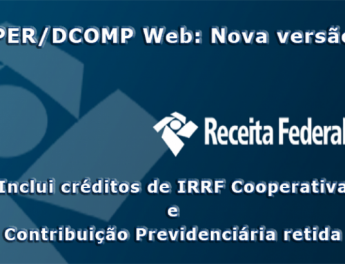 PER/DCOMP WEB Novas Inclusões