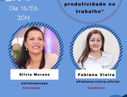 """Live """"GESTÃO DO TEMPO VISANDO PRODUTIVIDADE NO TRABALHO"""""""