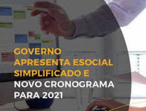 OnLine – eSOCIAL NOVA VERSÃO SIMPLIFICADA 2021
