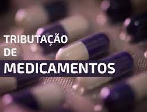 Online Tributação de medicamentos